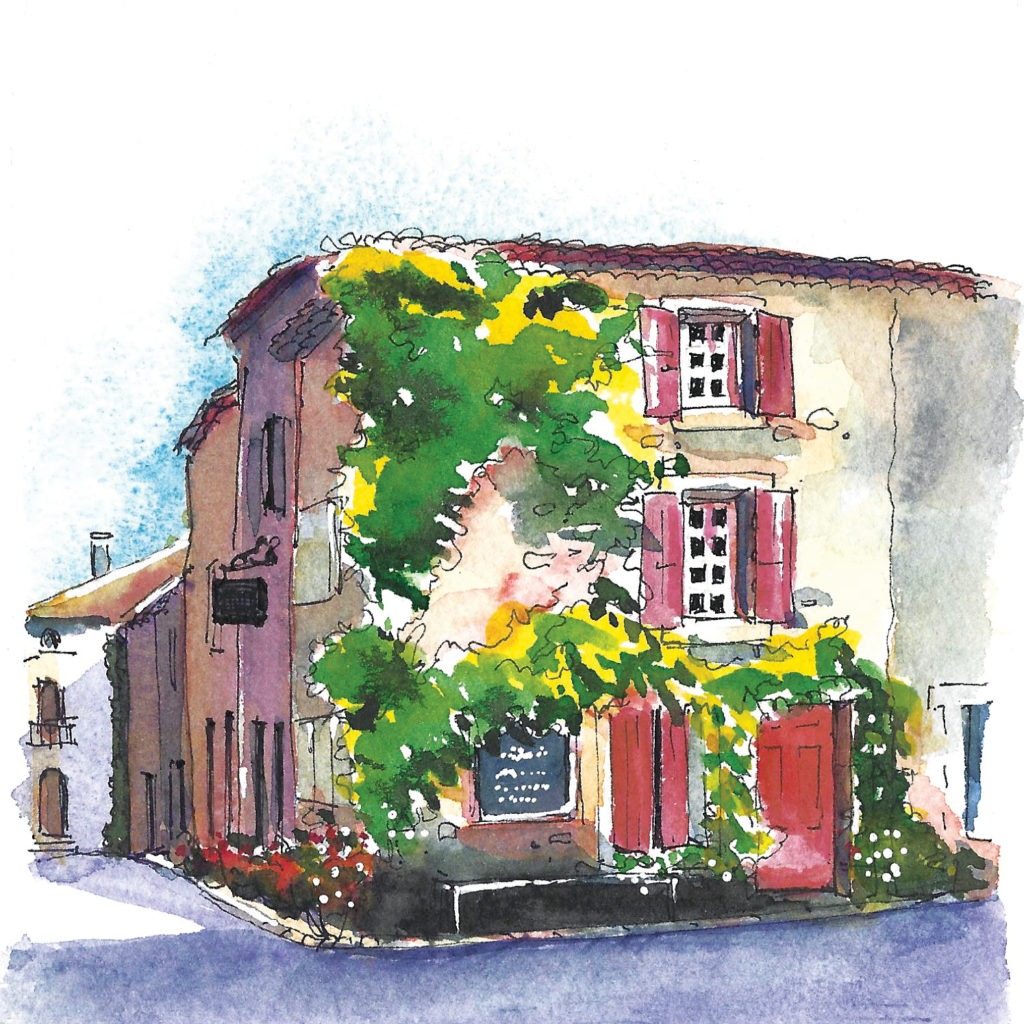   This 3-hour workshop is for beginners as well as more experienced sketchers - plenty of fun with pen and colour!