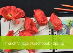   A selection of online workshops plus original watercolour sketches, greetings cards and sketching materials available from my studio.